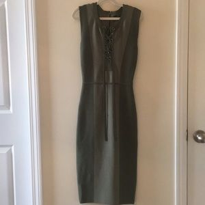 NWT BCBG Bodycon Dress Two-Tone
